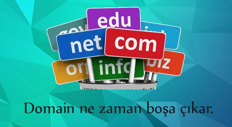 domain ne zaman silinir